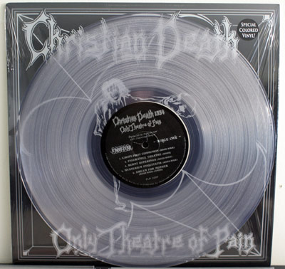 Christian Death silver anniversary edition