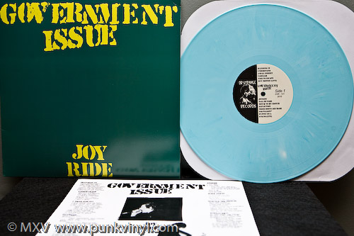 Government Issue Joyride reissue