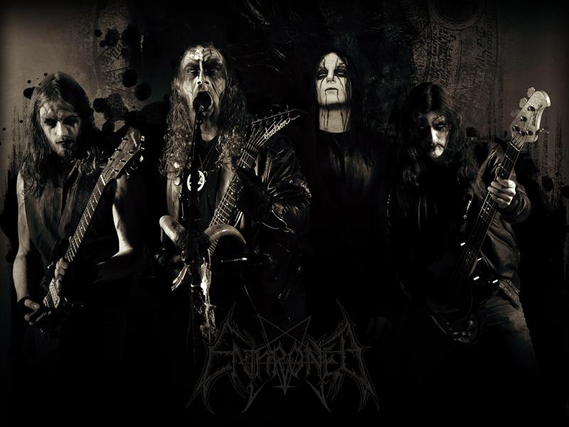 metal wallpaper. Belgian#39;s black metal outfit,