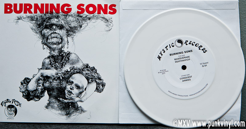 "Burning Sons 7"" EP"