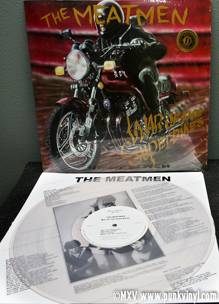The Meatmen War Of The Superbikes Vinyl Reissue The