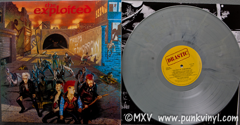 The Exploited Troops Of Tomorrow Vinyl Reissue The