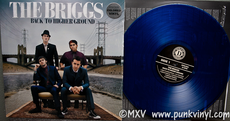 The Briggs Back To Higher Ground Lp The Punk Vault