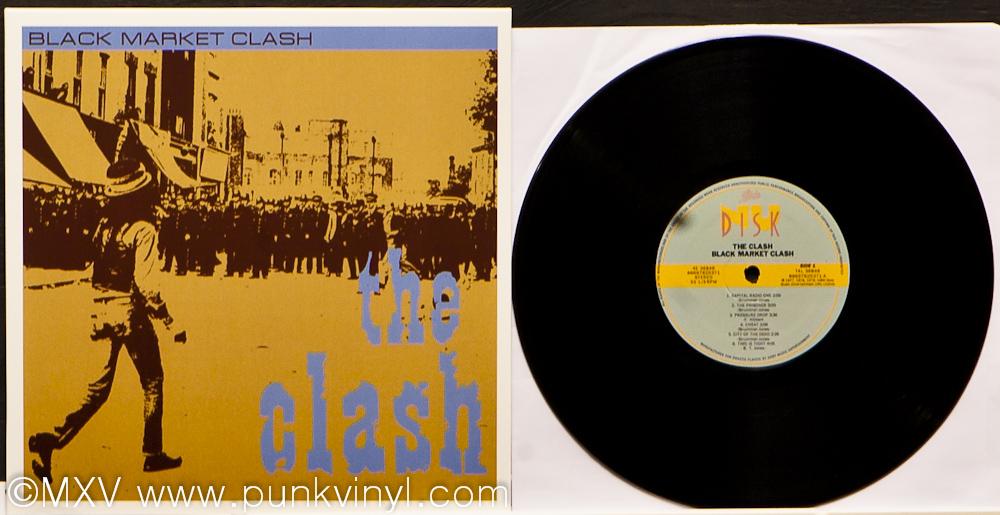 The Clash Black Market Clash Vinyl Reissue The Punk Vault