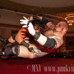 Rhino gores Chris Hall
