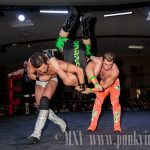 Three way tag match