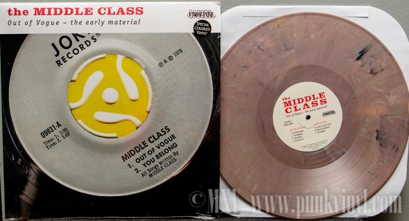 The Middle Class LP random color vinyl
