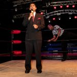 Andres the ring announcer