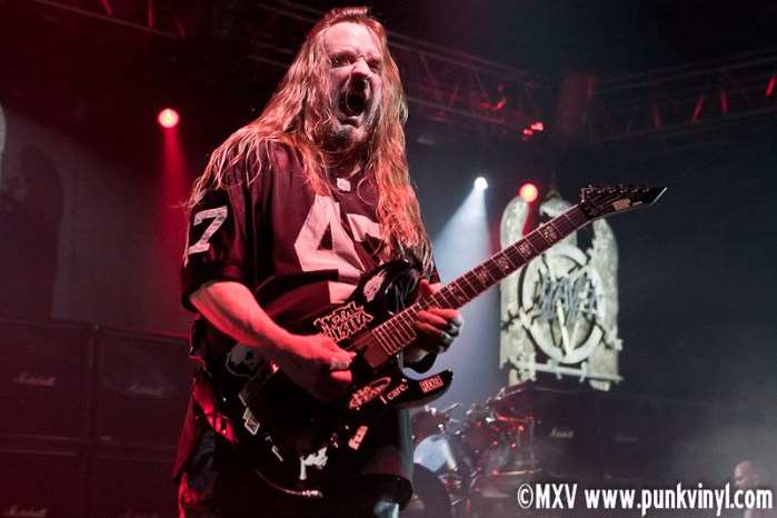 Jeff Hanneman of Slayer