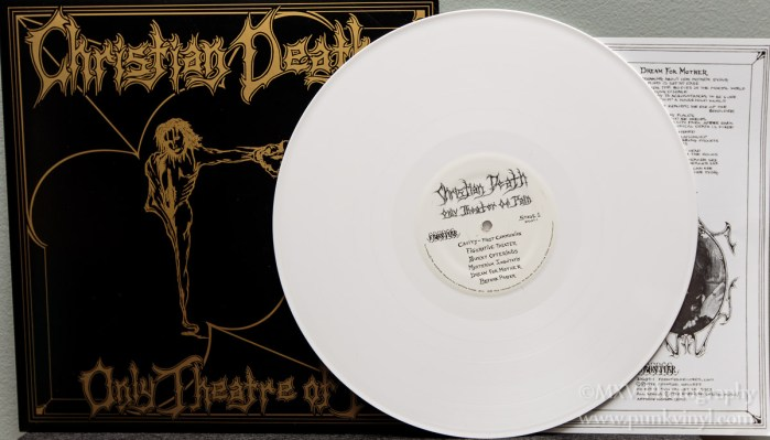 Christian Death - Only Theatre of Pain hybrid mistake pressing