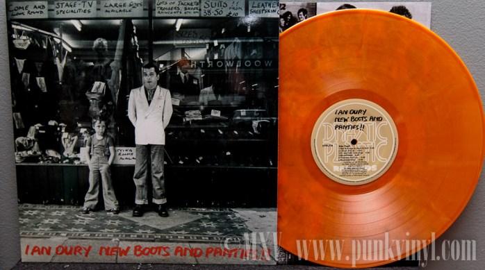 Ian Dury LP reissue
