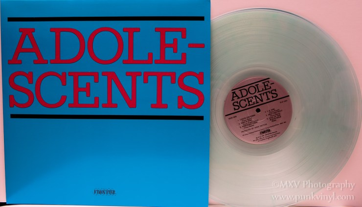 Adolescents LP - Coke bottle vinyl