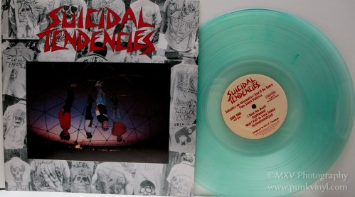 Suicidal Tendencies LP - coke bottle color vinyl