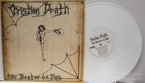 Christian Death - Only Theatre of Pain remastered white vinyl