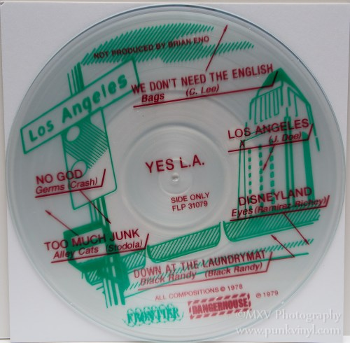 Yes L.A. reissue - red ink