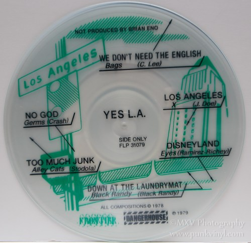 Yes L.A. reissue - black ink