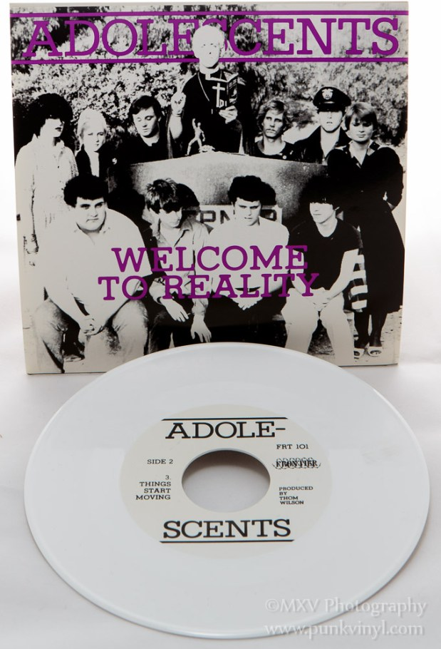 Adolescents - Welcome to Reality white vinyl