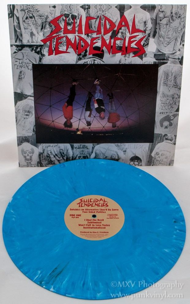 Suicidal Tendencies LP blue marble vinyl