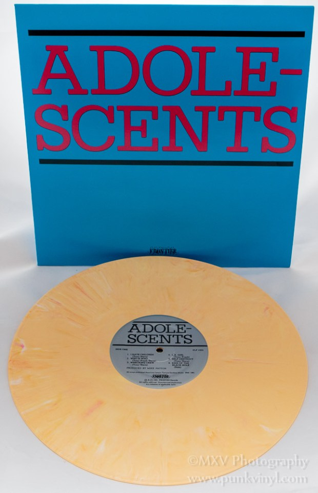 Adolescents LP yellow marbled vinyl