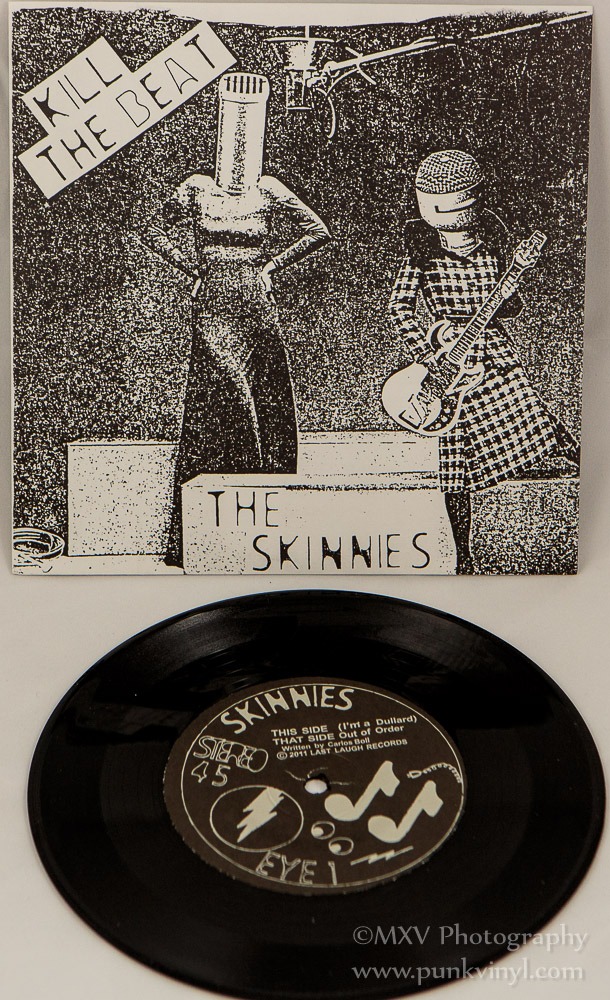 The Skinnies - Kill the Beat reissue