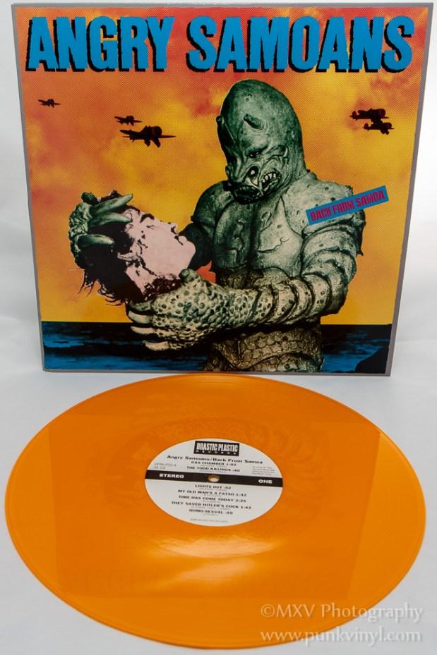 Angry Samoans - Back From Samoa LP reissue