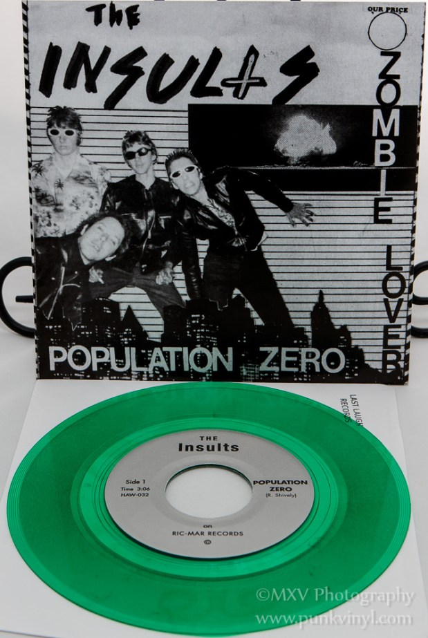 The Insults - Population Zero reissue