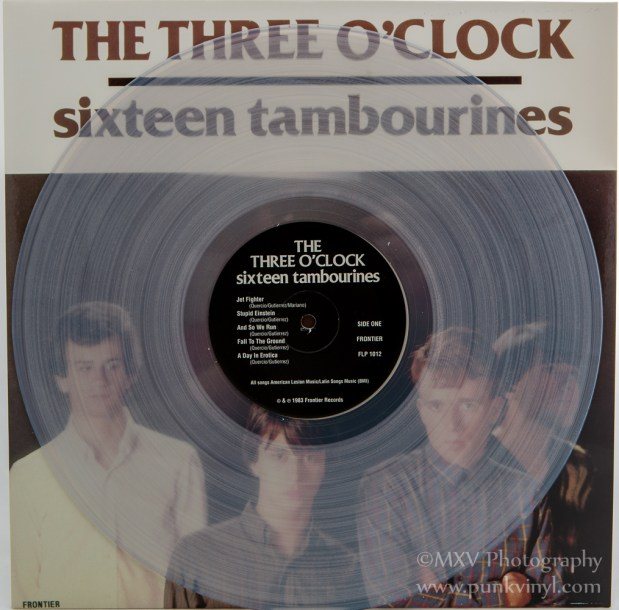 The Three O'Clock clear vinyl