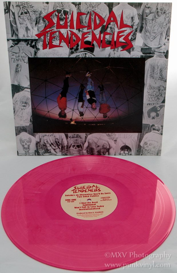 Suicidal Tendencies LP hot pink vinyl
