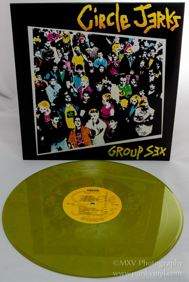 Circle Jerks slime green vinyl