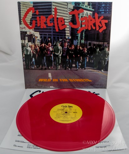 Circle Jerks - Wild in the Streets LP reissue