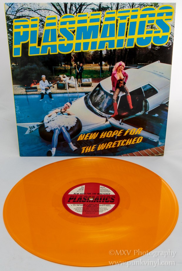 Plasmatics - New Hope for the Wretched reissue