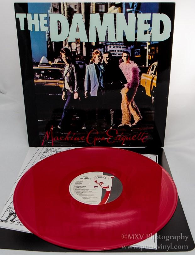 Damned - Machine Gun Etiquette reissue