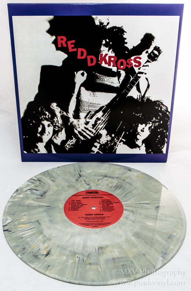 Redd Kross gray marbled vinyl