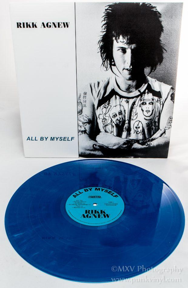Rikk Agnew LP blue marbled vinyl