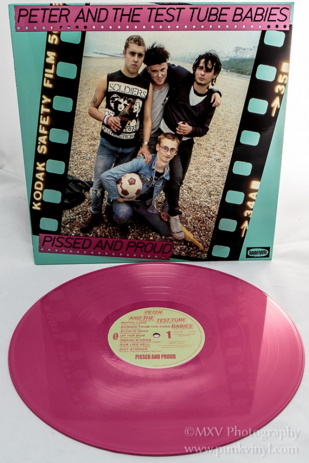 Peter and the Test Tube Babies LP