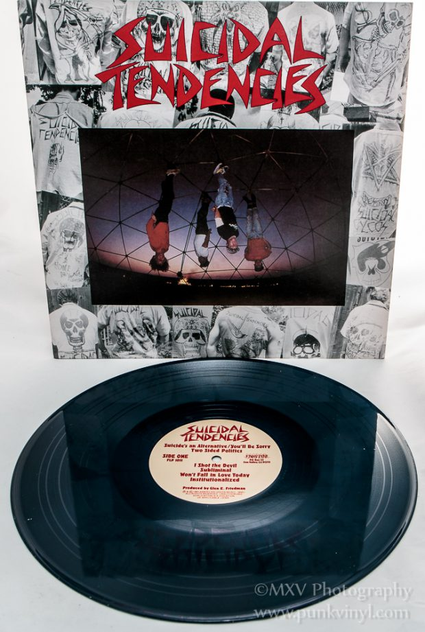 Suicidal Tendencies navy blue vinyl