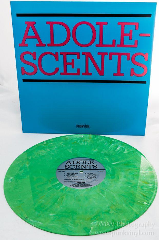 Adolescents LP green marbled vinyl