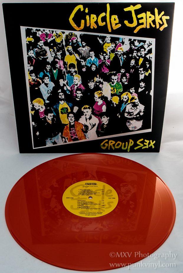 Circle Jerks - Group Sex orange vinyl