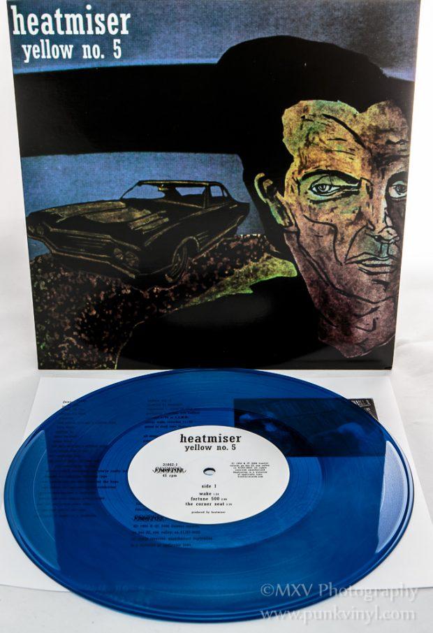 Heatmiser - yellow no 5 blue vinyl