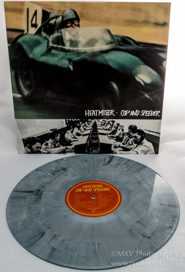 Heatmiser - Cop and Speeder gray marbled vinyl