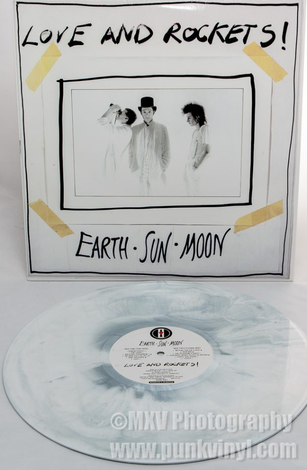 Love and Rockets - Earth Sun Moon vinyl reissue
