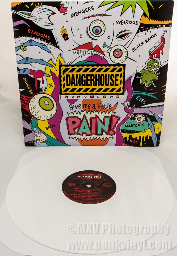 Dangerhouse Collection 2 white vinyl