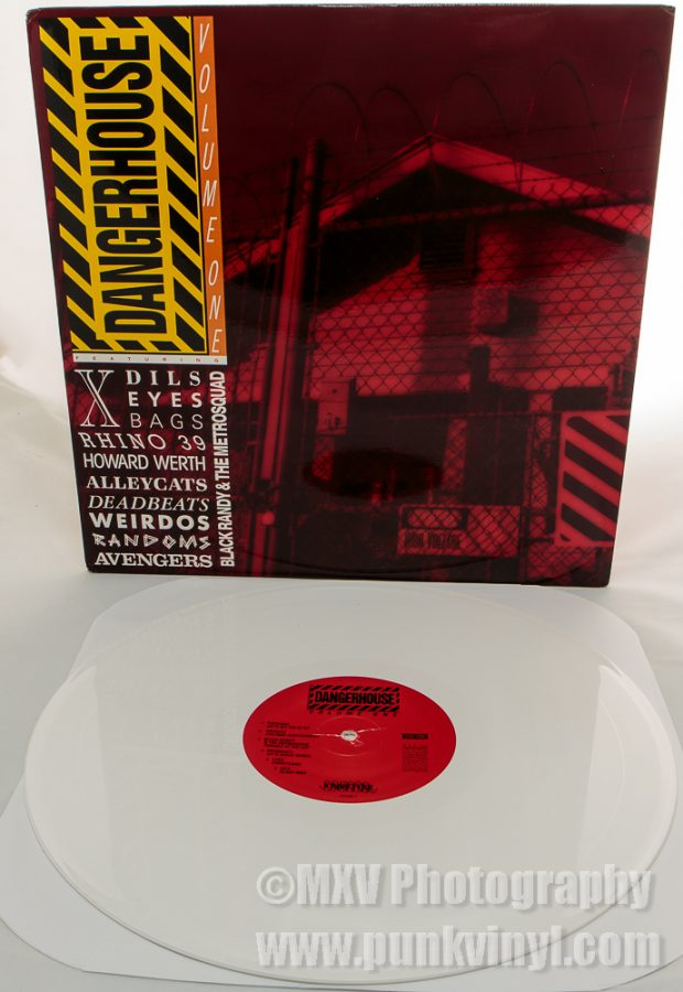 Dangerhouse Collection 1 white vinyl