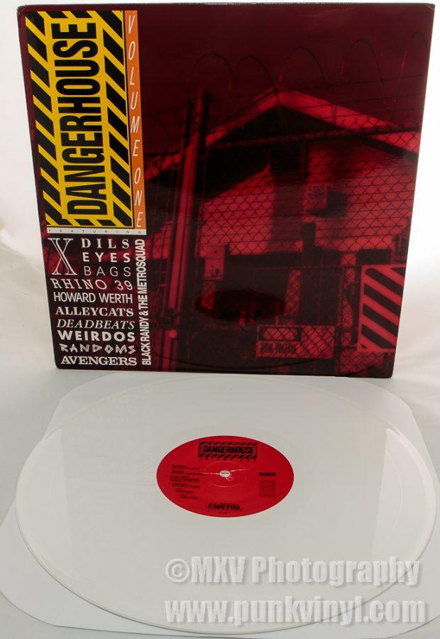 Dangerhouse Collection 1 white vinyl