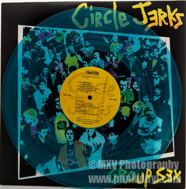 Circle Jerks coke bottle blue