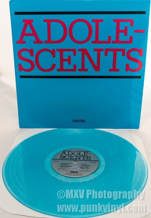 Adolescents coke bottle blue