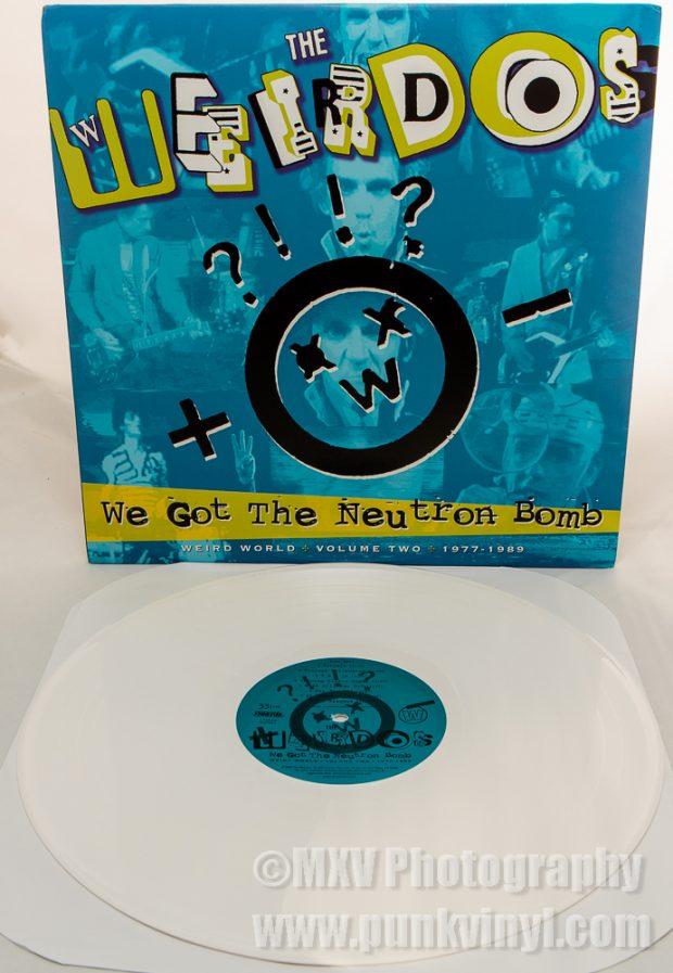 Weird World Two white vinyl