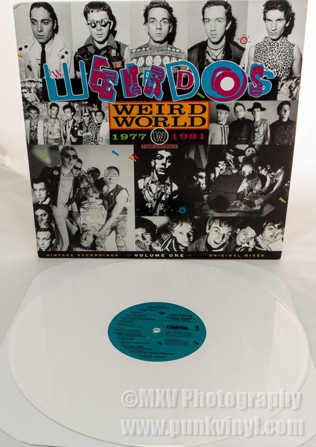 Weird World 1 white vinyl