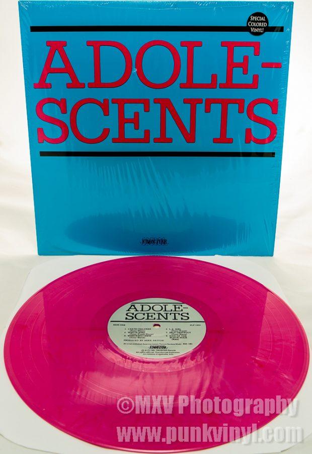 Adolescents LP rhubarb vinyl