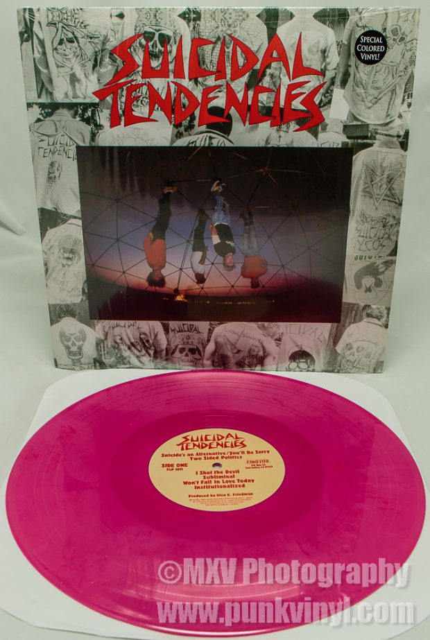 Suicidal Tendencies LP rhubarb vinyl